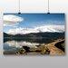 Big Box Art 'Mountain Reflection in the Lake' Photographic Print