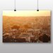 Big Box Art 'Sunlight Over the Town' Photographic Print