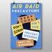 Big Box Art Air Raid Vintage Advertisement