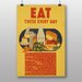 Big Box Art Eat These Every Day Vintage Advertisement
