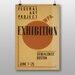 Big Box Art Exhibition No.21 Vintage Advertisement