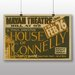 Big Box Art House of Connelly Vintage Advertisement
