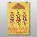 Big Box Art Indian Court No.1 Vintage Advertisement