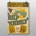 Big Box Art Help Yourself No.3 Vintage Advertisement