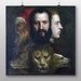 Big Box Art Titian the Allegory of Age Governed' by Prudence Art Print