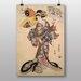 """Big Box Art """"Utagawa Japanese Oriental No.7"""" by Utagawa Toyokuni Art Print"""
