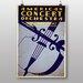 Big Box Art Concert Orchestra Vintage Advertisement