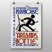 Big Box Art Art and Mrs Bottle Graphic Art