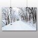 Big Box Art Winter Road Photographic Print
