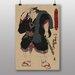 """Big Box Art """"Utagawa Japanese Oriental Sumo"""" by Utagawa Toyokuni Art Print"""