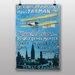 Big Box Art Aero Club Vintage Advertisement