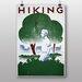 Big Box Art Hiking Vintage Advertisement