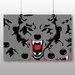 Big Box Art Wolf Art Graphic Art