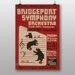 Big Box Art Bridgeport Symphony Orchestra Vintage Advertisement