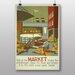 Big Box Art Market Vintage Advertisement