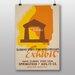 Big Box Art Exhibit Vintage Advertisement