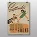 Big Box Art Back to Books No.2 Vintage Advertisement