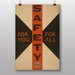 Big Box Art Safety Vintage Advertisement