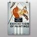 Big Box Art Exhibition No.15 Vintage Advertisement