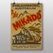 Big Box Art The Mikado Vintage Advertisement