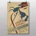 Big Box Art Exposition Vintage Advertisement