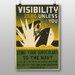 Big Box Art Visibility Zero Vintage Advertisement