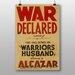 Big Box Art War Declared Vintage Advertisement