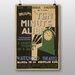 Big Box Art Ten Minute Alibi Vintage Advertisement