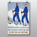 Big Box Art They Like Winter Vintage Advertisement