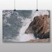 Big Box Art 'Waves Against the Rock' Photographic Print