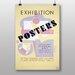 Big Box Art Exhibition No.31 Vintage Advertisement