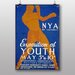 Big Box Art Exposition of Youth Vintage Advertisement