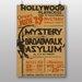 Big Box Art Mystery Broadwalk Asylum Vintage Advertisement