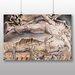 Big Box Art 'Jobs Evil Dreams' by William Blake Art Print