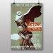 Big Box Art Victory Concerts Vintage Advertisement