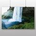 Big Box Art 'Waterfall and Lake' Photographic Print