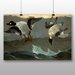 Big Box Art 'Right and Left' by Winslow Homer Art Print