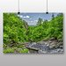 Big Box Art 'Water Through the Green Forest' Photographic Print