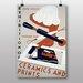 Big Box Art Exhibition No.47 Vintage Advertisement