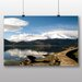 Big Box Art 'Snow Topped Mountains' Photographic Print