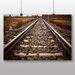 Big Box Art 'The Train Tracks' Photographic Print