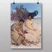 "Big Box Art ""An Eloquent Silence"" by Lawrence Alma-Tadema Art Print"