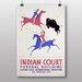 Big Box Art Indian Court No.6 Vintage Advertisement