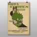 Big Box Art Exhibition No.28 Vintage Advertisement