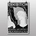 Big Box Art Exhibition Vintage Advertisement