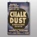 Big Box Art Chalk Dust Vintage Advertisement