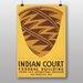 Big Box Art Indian Court No.7 Vintage Advertisement