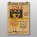 Big Box Art Chalk Dust No.2 Vintage Advertisement