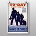 Big Box Art To-Day is Another Day Vintage Advertisement