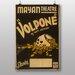 Big Box Art Volpone Vintage Advertisement